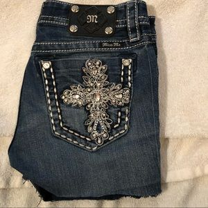 Miss me jeans shorts size 27